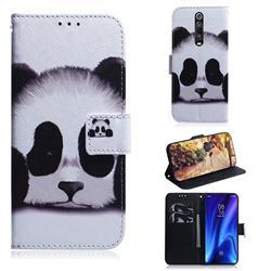 Sleeping Panda PU Leather Wallet Case for Xiaomi Redmi K20 / K20 Pro