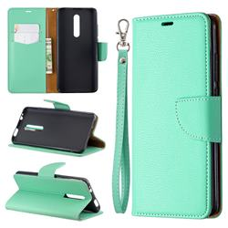 Classic Luxury Litchi Leather Phone Wallet Case for Xiaomi Redmi K20 / K20 Pro - Green