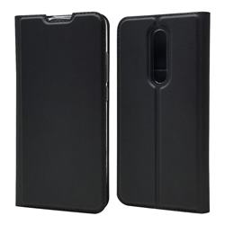 Ultra Slim Card Magnetic Automatic Suction Leather Wallet Case for Xiaomi Redmi K20 / K20 Pro - Star Grey