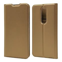 Ultra Slim Card Magnetic Automatic Suction Leather Wallet Case for Xiaomi Redmi K20 / K20 Pro - Champagne