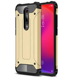 King Kong Armor Premium Shockproof Dual Layer Rugged Hard Cover for Xiaomi Redmi K20 Pro - Champagne Gold
