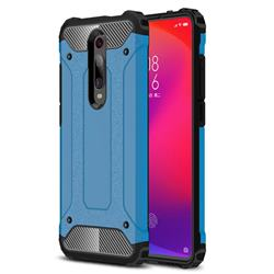 King Kong Armor Premium Shockproof Dual Layer Rugged Hard Cover for Xiaomi Redmi K20 Pro - Sky Blue