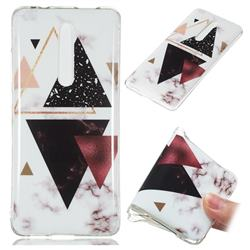 Four Triangular Soft TPU Marble Pattern Phone Case for Xiaomi Redmi K20 Pro