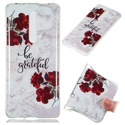 Rose Soft TPU Marble Pattern Phone Case for Xiaomi Redmi K20 Pro