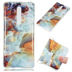 Fire Cloud Soft TPU Marble Pattern Phone Case for Xiaomi Redmi K20 Pro