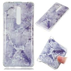 Light Gray Soft TPU Marble Pattern Phone Case for Xiaomi Redmi K20 Pro