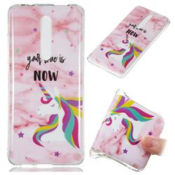 Unicorn Soft TPU Marble Pattern Phone Case for Xiaomi Redmi K20 Pro