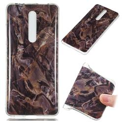 Brown Soft TPU Marble Pattern Phone Case for Xiaomi Redmi K20 Pro