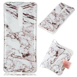 White Soft TPU Marble Pattern Case for Xiaomi Redmi K20 Pro