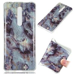 Rock Blue Soft TPU Marble Pattern Case for Xiaomi Redmi K20 Pro