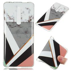 Pinstripe Soft TPU Marble Pattern Phone Case for Xiaomi Redmi K20 Pro