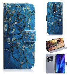 Apricot Tree PU Leather Wallet Case for Xiaomi Redmi K20 Pro