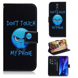 Not Touch My Phone PU Leather Wallet Case for Xiaomi Redmi K20 Pro