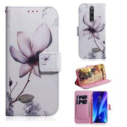 Magnolia Flower PU Leather Wallet Case for Xiaomi Redmi K20 Pro