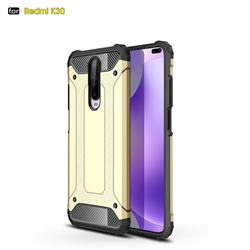 King Kong Armor Premium Shockproof Dual Layer Rugged Hard Cover for Xiaomi Redmi K30 - Champagne Gold