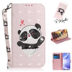 Heart Cat 3D Painted Leather Wallet Phone Case for Xiaomi Redmi K30