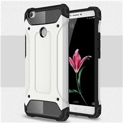 King Kong Armor Premium Shockproof Dual Layer Rugged Hard Cover for Xiaomi Mi Max - White