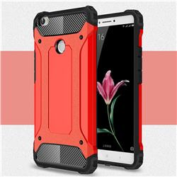 King Kong Armor Premium Shockproof Dual Layer Rugged Hard Cover for Xiaomi Mi Max - Big Red