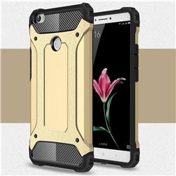 King Kong Armor Premium Shockproof Dual Layer Rugged Hard Cover for Xiaomi Mi Max - Champagne Gold