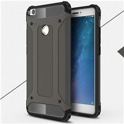 King Kong Armor Premium Shockproof Dual Layer Rugged Hard Cover for Xiaomi Mi Max 2 - Bronze