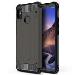 King Kong Armor Premium Shockproof Dual Layer Rugged Hard Cover for Xiaomi Mi Max 3 - Bronze
