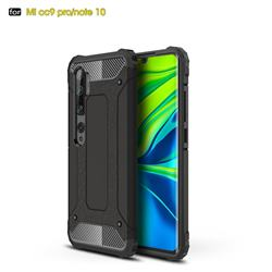 King Kong Armor Premium Shockproof Dual Layer Rugged Hard Cover for Xiaomi Mi Note 10 / Note 10 Pro / CC9 Pro - Black Gold