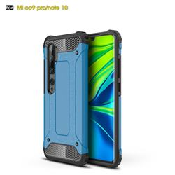 King Kong Armor Premium Shockproof Dual Layer Rugged Hard Cover for Xiaomi Mi Note 10 / Note 10 Pro / CC9 Pro - Sky Blue