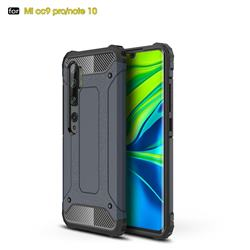 King Kong Armor Premium Shockproof Dual Layer Rugged Hard Cover for Xiaomi Mi Note 10 / Note 10 Pro / CC9 Pro - Navy