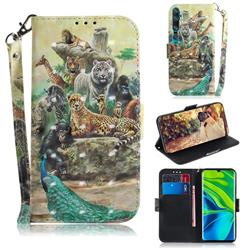 Beast Zoo 3D Painted Leather Wallet Phone Case for Xiaomi Mi Note 10 / Note 10 Pro / CC9 Pro