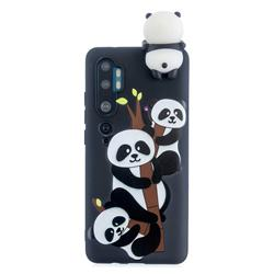 Ascended Panda Soft 3D Climbing Doll Soft Case for Xiaomi Mi Note 10 Lite