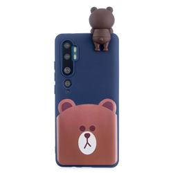 Cute Bear Soft 3D Climbing Doll Soft Case for Xiaomi Mi Note 10 Lite