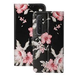 Azalea Flower PU Leather Wallet Case for Xiaomi Mi Note 10 Lite