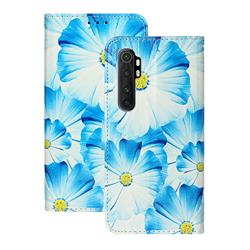 Orchid Flower PU Leather Wallet Case for Xiaomi Mi Note 10 Lite