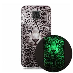Leopard Tiger Noctilucent Soft TPU Back Cover for Xiaomi Redmi Note 9s / Note9 Pro / Note 9 Pro Max