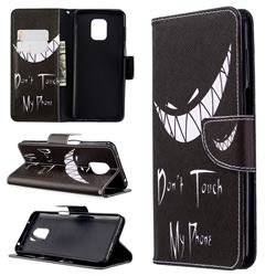 Crooked Grin Leather Wallet Case for Xiaomi Redmi Note 9s / Note9 Pro / Note 9 Pro Max
