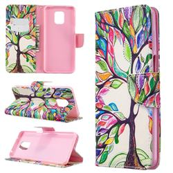 The Tree of Life Leather Wallet Case for Xiaomi Redmi Note 9s / Note9 Pro / Note 9 Pro Max