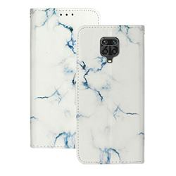 Soft White Marble PU Leather Wallet Case for Xiaomi Redmi Note 9s / Note9 Pro / Note 9 Pro Max