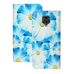 Orchid Flower PU Leather Wallet Case for Xiaomi Redmi Note 9s / Note9 Pro / Note 9 Pro Max