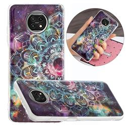 Datura Flowers Noctilucent Soft TPU Back Cover for Xiaomi Redmi Note 9T