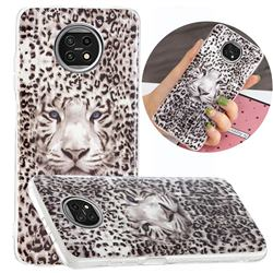 Leopard Tiger Noctilucent Soft TPU Back Cover for Xiaomi Redmi Note 9T