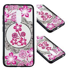 Daffodil Lace Diamond Flower Soft TPU Back Cover for Mi Xiaomi Pocophone F1