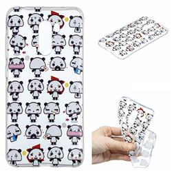 Mini Panda Clear Varnish Soft Phone Back Cover for Mi Xiaomi Pocophone F1