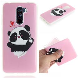 Heart Cat IMD Soft TPU Cell Phone Back Cover for Mi Xiaomi Pocophone F1