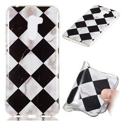 Black and White Matching Soft TPU Marble Pattern Phone Case for Mi Xiaomi Pocophone F1