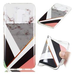 Pinstripe Soft TPU Marble Pattern Phone Case for Mi Xiaomi Pocophone F1