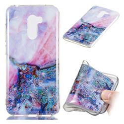 Purple Amber Soft TPU Marble Pattern Phone Case for Mi Xiaomi Pocophone F1