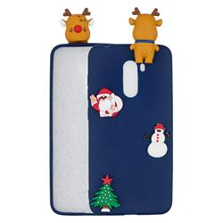 Navy Elk Christmas Xmax Soft 3D Silicone Case for Mi Xiaomi Pocophone F1
