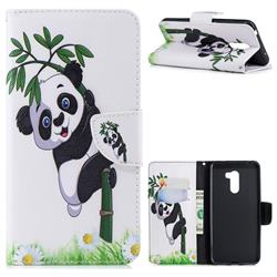 Bamboo Panda Leather Wallet Case for Mi Xiaomi Pocophone F1