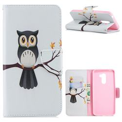 Owl on Tree Leather Wallet Case for Mi Xiaomi Pocophone F1