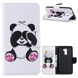 Lovely Panda Leather Wallet Case for Mi Xiaomi Pocophone F1